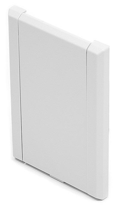 Gniazdo plastikowe LUX białe