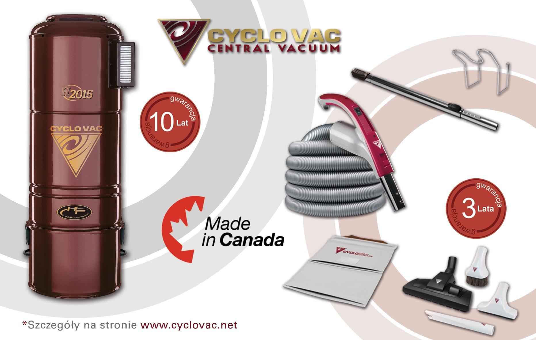 Cyclo Vac H2015 + zestaw Modern