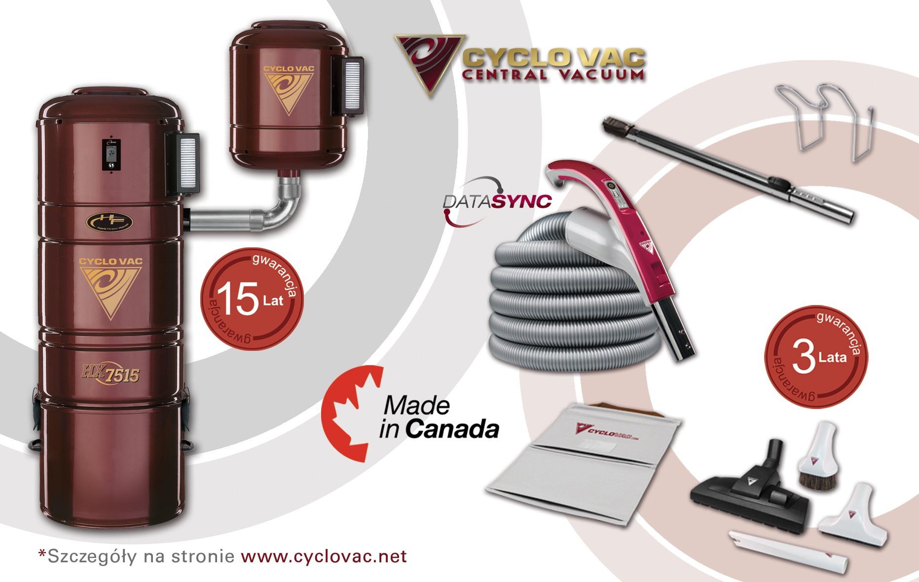 Cyclo Vac HX7515 z zestawem DataSync