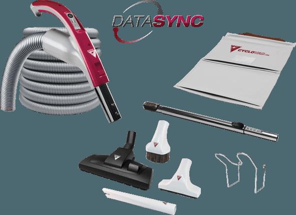 Zestaw CYCLOVAC Datasync 9m
