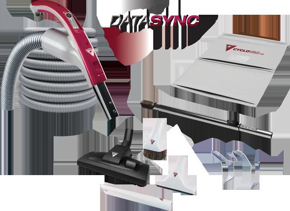 Zestaw DATASYNC z wężem z regulacją obrotów