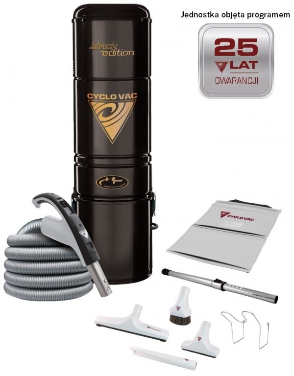 Odkurzacz Cyclovac H615 Black Edition