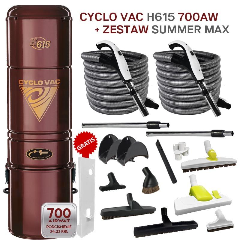 Cyclo Vac H615 + zestaw SummerMax
