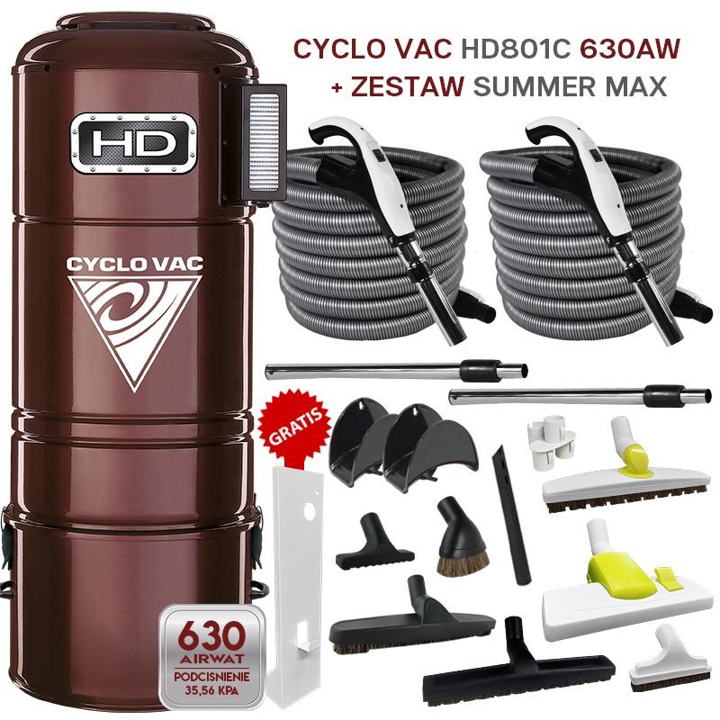 Cyclo Vac HD 801C + zestaw SummerMax